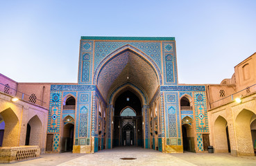Jame Mosque of Yazd in Iran.