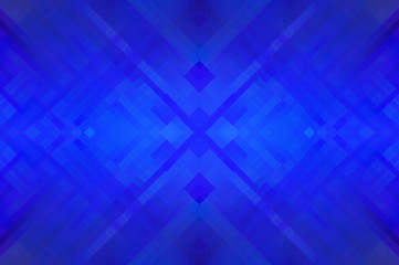 Abstract blue fractal background with lines