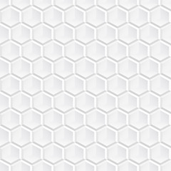 White decorative geometric texture.