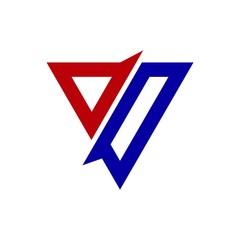 triangle shpae business logo