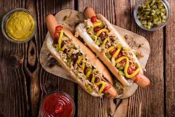 Fresh made Hot Dog