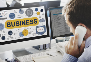 Business Strategy Startup Success Growth Company Concept
