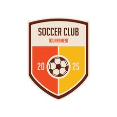 Soccer Football Badge Logo Design Templates. Sport Team Identity