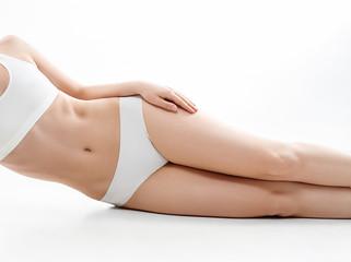 Woman body healthy natural skin