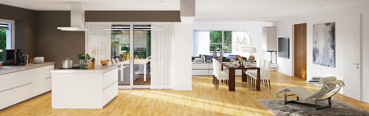 Modernes Luxus Penthouse