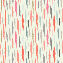 Abstract seamless pattern. Ikat