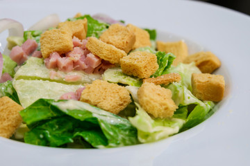 Bacon salad.