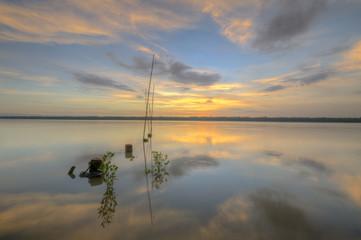 Beautiful moment at Laguna Park, Klang Selangor during sunrise.