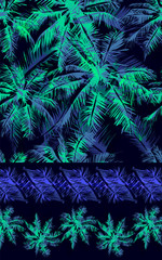 tropical pattern 38