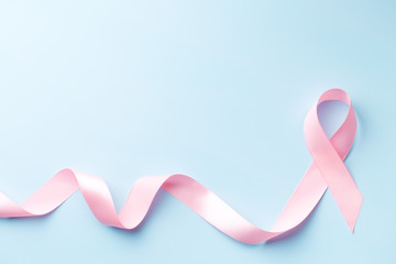 pink ribbon, breast cancer awareness symbol
