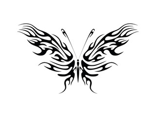 Butterfly Flame Design