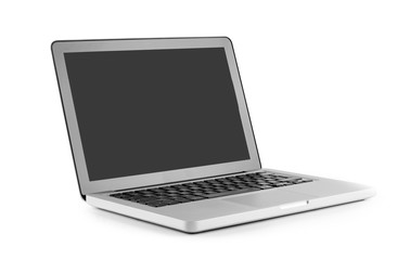 High definition view of a design laptop