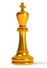 chess , golden king
