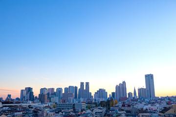 東京・新宿・朝