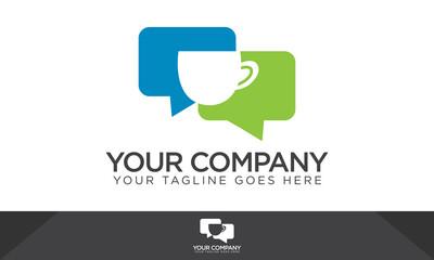 Coffee , Chat - Social Media Logo