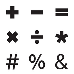 Basic Mathematical Sign