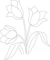 tulip pattern 02