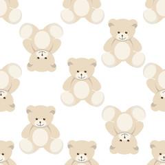 teddy bear seamless