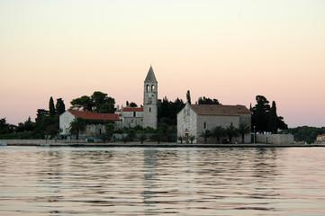 Motif from port of Vis - Island Vis, Dalmatia, Croatia