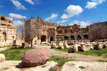 Great Court in the Jupiter Templ in Baalbek, Lebanon