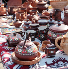 Traditional Ukrainian crockery