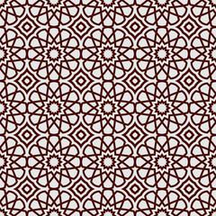 Abstract islamic background, ramadan theme, geometric ornamental pattern