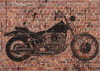 Moto sportster grunge