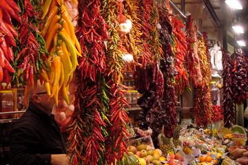 Pepper, Boqueria market
