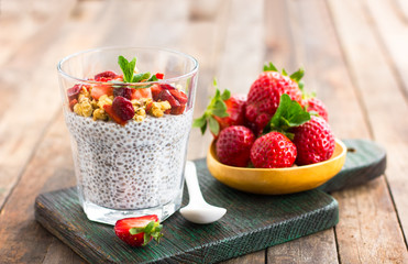 Super food - Healthy Chia seed pudding