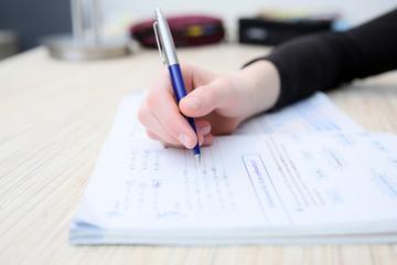 Odrabiać zadanie domowe