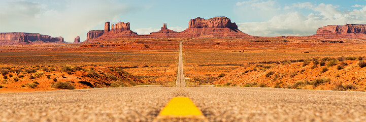 Open Road in Southwest United States