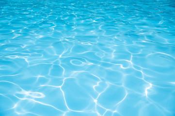 Beautiful Gentle wave in swimming pool