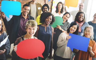 Diversity Team Community Group of People Concept