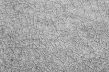 Closeup surface abstract green tile marble floor texture background in black and white tone