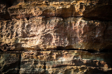Rock texture background closeup.