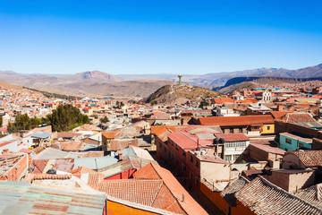Potosi aerial view
