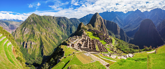 Canvas Prints South America Country Machu Picchu
