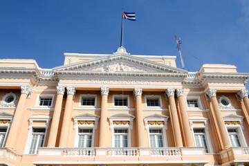 Provincial Palace old landmark of Santiago de Cuba