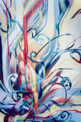 Graffiti abstrait