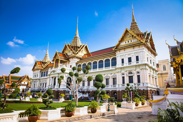 Photo sur Plexiglas Bangkok Grand Palace in Phra Nakhon, Bangkok, Thailand.