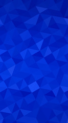 Blue polygonal design illustration, which consist of triangles a