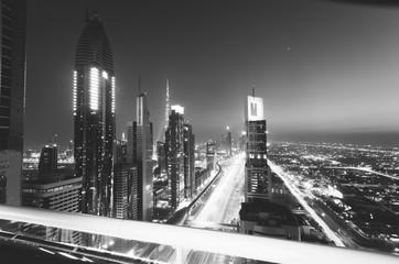 Dubai, UAE. Black and White series