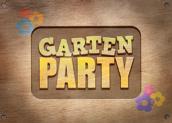 GartenParty - Klecks - Holz 4