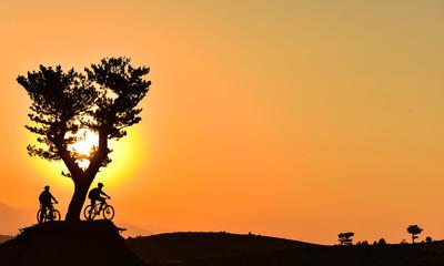 gündoğumu bisiklet gezisi