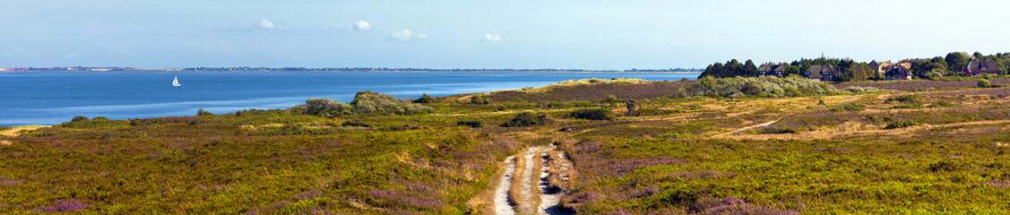 Fototapete - Sylt Braderuper Heide Panorama