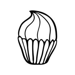 Cupcake sketch