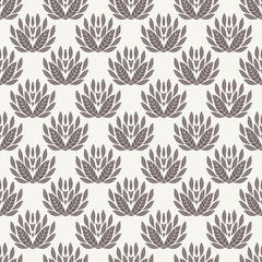 Seamless geometric pattern. Ornamental vector texture.