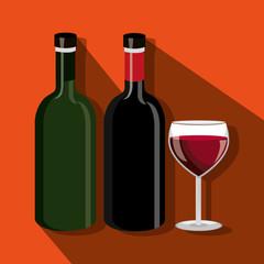 wine icon design