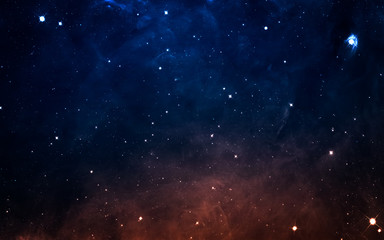 Starfield in deep space many light years far from the Earth. Elements of this image furnished by NASA