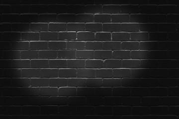 Black Brick Wall Backdrop